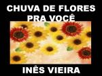 chuva de flores pra você
