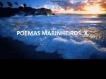 poemas marinheiros