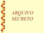mensagem arquivo secreto