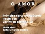 mensagem biblia viva 1 corintios 13