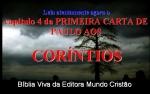 biblia viva 1 corintios 4 e 5