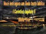 mensagem biblia viva 1 corintios 6