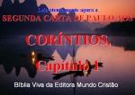 biblia viva 2 corintios 1 a 3