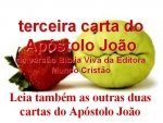 biblia viva 3 carta do apostolo joão