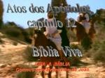 biblia viva atos dos apostolos cap 12 e 13
