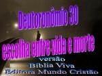 biblia viva deutoronomio 30 vida ou morte