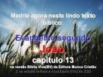 biblia viva evang joao cap 13