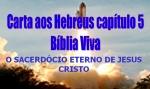 biblia viva hebreus 5