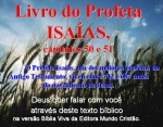biblia viva isaias 50 e 51