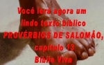 biblia viva proverbios 13