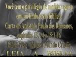 biblia viva romanos 13 e 14