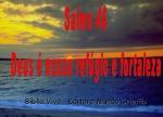 biblia viva salmo 46 refugio e fortaleza