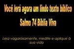 biblia viva salmo 74