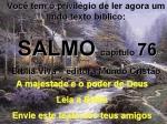 biblia viva salmo 76 majestade e poder de deus