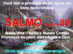 biblia viva salmo 89 reino messiânico