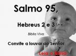 biblia viva salmo 95