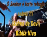 biblia viva salmos 11 forte refugio