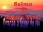 biblia viva salmos 20 oração