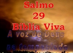 biblia viva salmos 29 tempestade