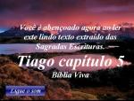 biblia viva tiago 5