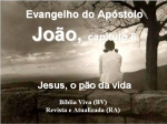 mensagem bibliavivara joão 06