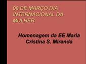 8 de Marco Dia da internacional da mulher