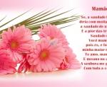 mensagem saudade de você mamãe