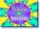 Flor de Lotus poesia indiana
