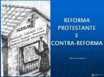 mensagem Reforma Protestante e Contra Reforma