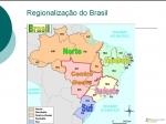 Regionalizacao do Brasil