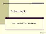 Urbanizacão e Redes Urbanas