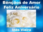 bênçãos de amor feliz aniversário