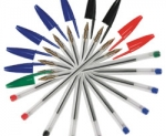 mensagem o mistério das canetas bic
