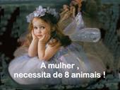 As mulheres e seus animais