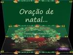 oração de natal 2012