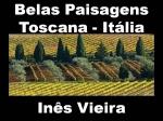 mensagem belas paisagens toscana italia