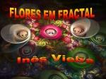 flores em fractal