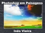 mensagem photoshop em paisagens
