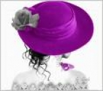 Chapeu violeta