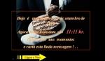 mensagem Um pedaço de bolo