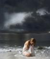 no meio da tormenta