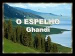o espelho  ghandi