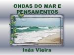 ondas do mar e pensamentos