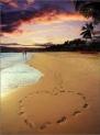 pegadas na areia 2