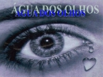 �gua dos olhos